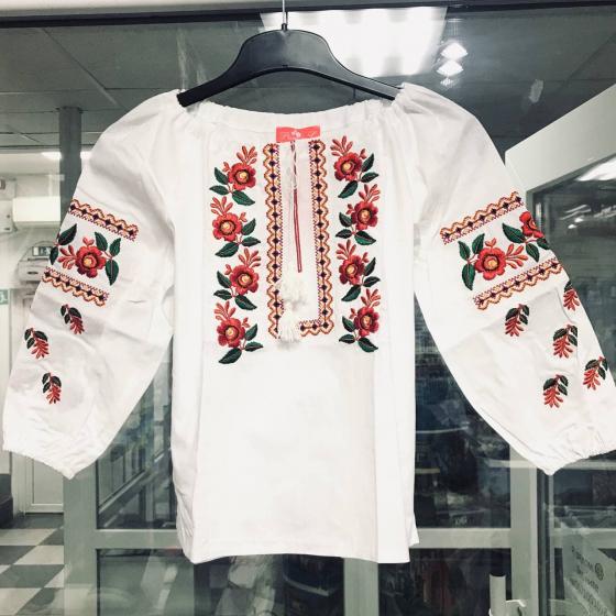 Вышиванка с орнаментом PICCOLO / ПИККОЛО