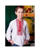 Вышиванка для мальчика с орнаментом PICCOLO / ПИККОЛО