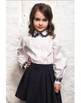 Блуза Frantolino с длинным рукавом