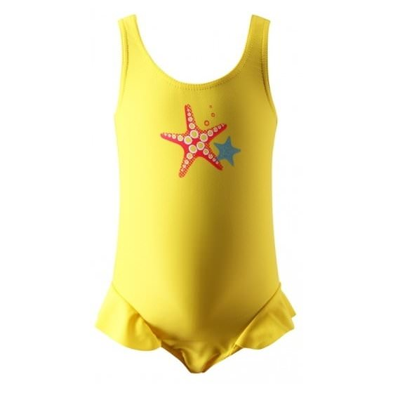 Желтый купальник для моря и бассейна REIMA SunProof