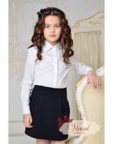 Темно -синяя юбка для школы Viani / Виани