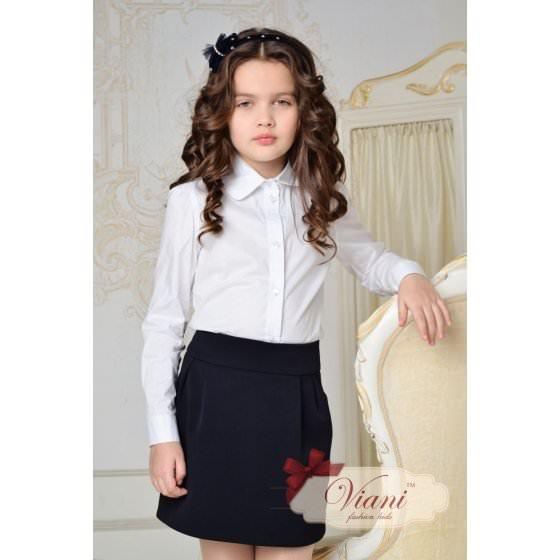 Темно синяя юбка для школы Viani / Виани шк20