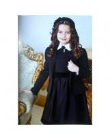Черный пиджак для школы Viani / Виани