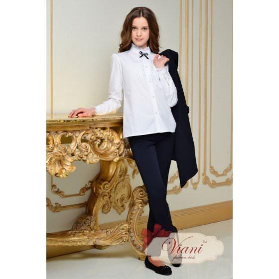 Школьные брюки темно-синего цвета Viani
