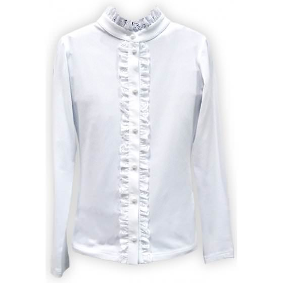 Школьная блузка длинный рукав Viani / Виани / Модные Детки