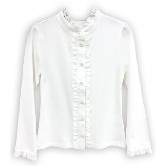 Блузка школьная длинный рукав Viani / Виани / Модные Детки