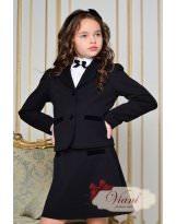 Школьный черный пиджак Viani / Виани