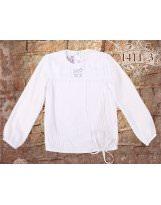 Белая школьная блузка MONE / МОНЕ