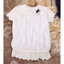 Молочная школьная блуза MONE / МОНЕ