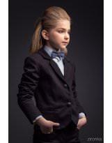 Пиджак школьный темно-синий Зиронька / Zironka
