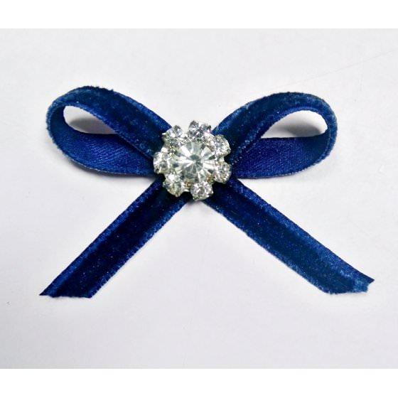 Брошь синяя нарядная - школьная VIANI / ВИАНИ