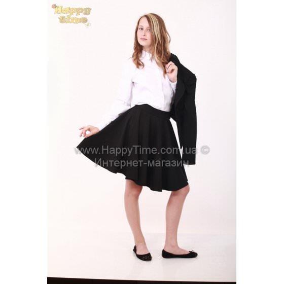 Черная средней дленны школьная юбка Viani / Виани