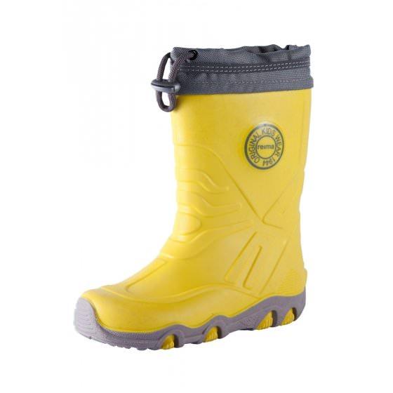 Резиновые желтые сапоги Reima Slate HappyTime купить