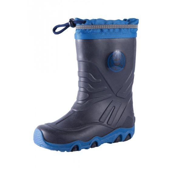 Резиновые темно-синие сапоги Reima Slate - ТЕПЛЫЕ купить сапоги happytime