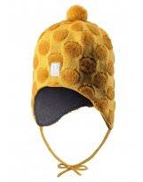 Зимняя желтая шапка-бини Reima - Рейма Saami 518431/2390