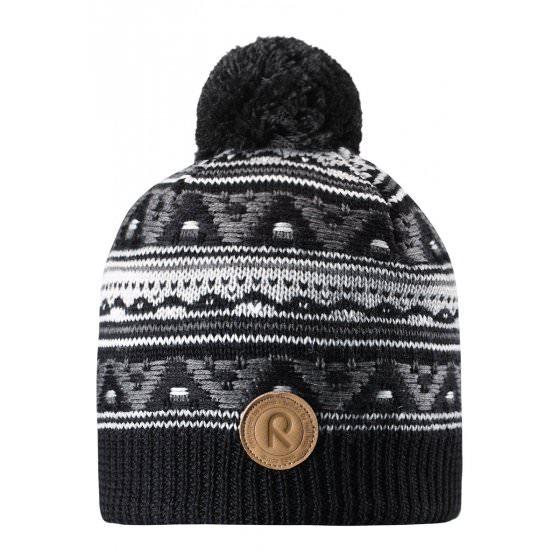 Зимняя синяя шапка для подростков Reima | Рейма Neulanen 538026/9400