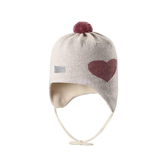Теплая зимняя шапка Lassie | Ласси by Reima 718725/0160 HappyTime
