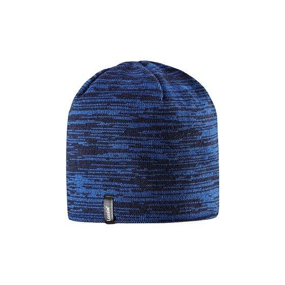 Темно-синяя теплая зимняя шапка Lassie | Ласси by Reima 728713/6961