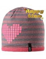 Теплая зимняя розовая шапка Lassie - Ласси by Reima
