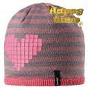 Теплая зимняя розовая шапка Lassie | Ласси by Reima 728718/4391