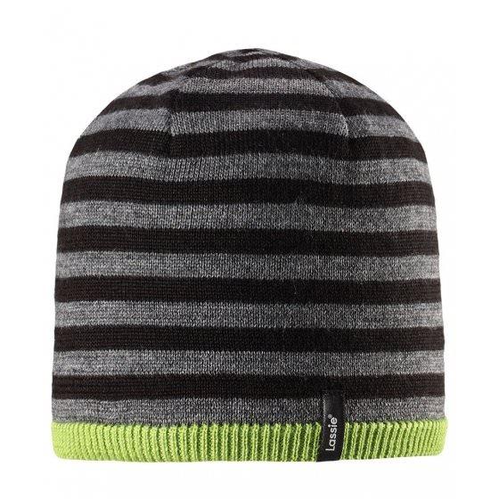 Теплая зимняя полосатая шапка Lassie | Ласси by Reima 728718/8311