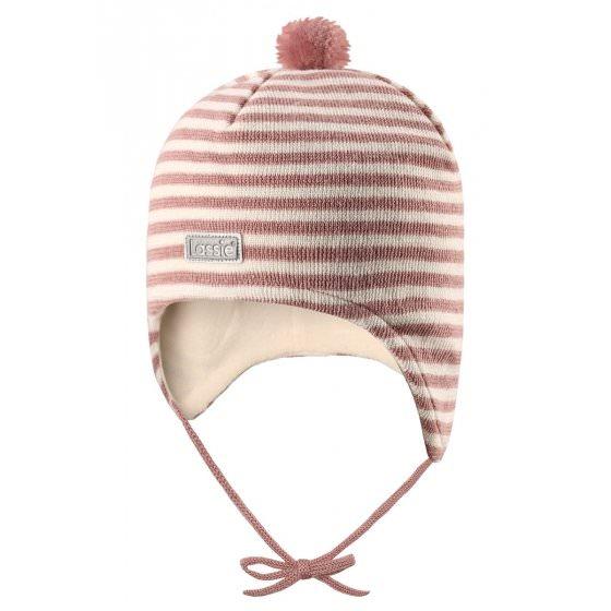 Теплая зимняя розовая шапка Lassie | Ласси by Reima 718723/4311