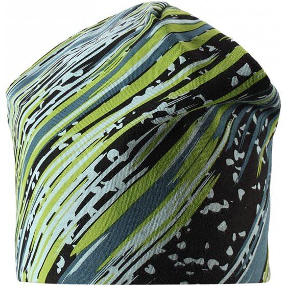 Спортивная зеленая зимняя шапка Lassie | Ласси by Reima 728712/8313