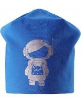 Спортивная голубая зимняя шапка Lassie - Ласси by Reima