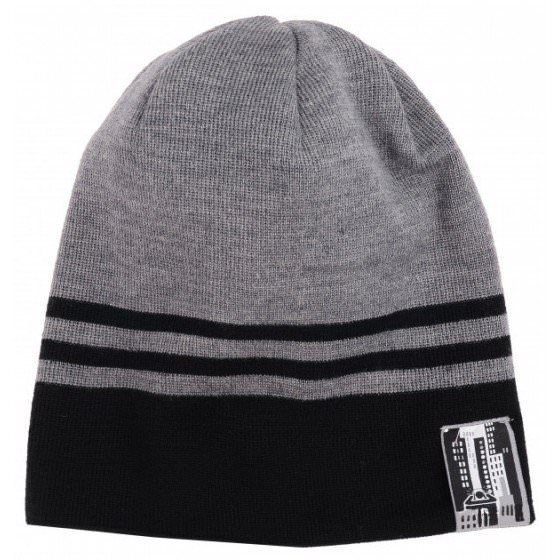 Зимняя темно-синяя шапка с бубоном Lenne | Ленне SAM 17394/390