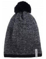 Зимняя черная шапка с бубоном Lenne - Ленне SILAS