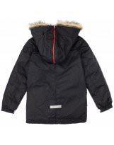 Парка черная зимняя Lenne | Ленне куртка WOODY 17368/042