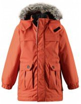 Оранжевая зимняя парка - куртка LASSIE - ЛАССИ BY REIMA