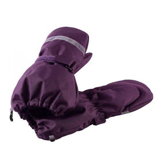 Зимние фиолетовые рукавицы краги LASSIE | ЛАССИ BY REIMA 727717/4920