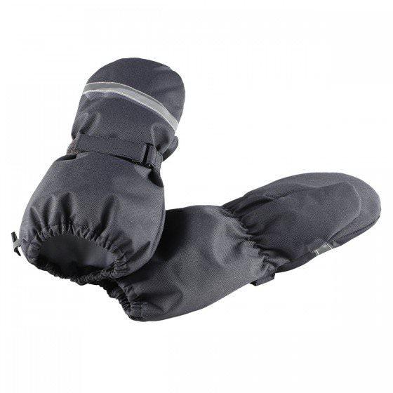 Зимние темно-серые рукавицы краги LASSIE | ЛАССИ BY REIMA 727717/9680