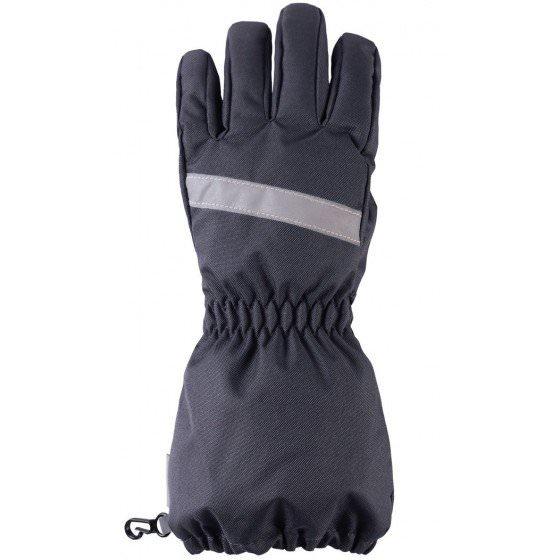 Зимние темно серые перчатки LASSIE | ЛАССИ BY REIMA 727718/9680