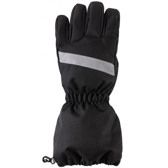 Зимние черные перчатки LASSIE | ЛАССИ BY REIMA 727718/9990
