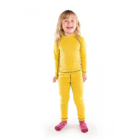 Термобелье желтое для детей и подростков Reima | Рейма Lani 536183/2390