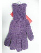 Шерстяные сиреневые перчатки KIVAT - КИВАТ 155/21