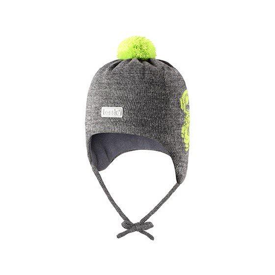 Теплая зимняя серая шапка Lassie | Ласси by Reima