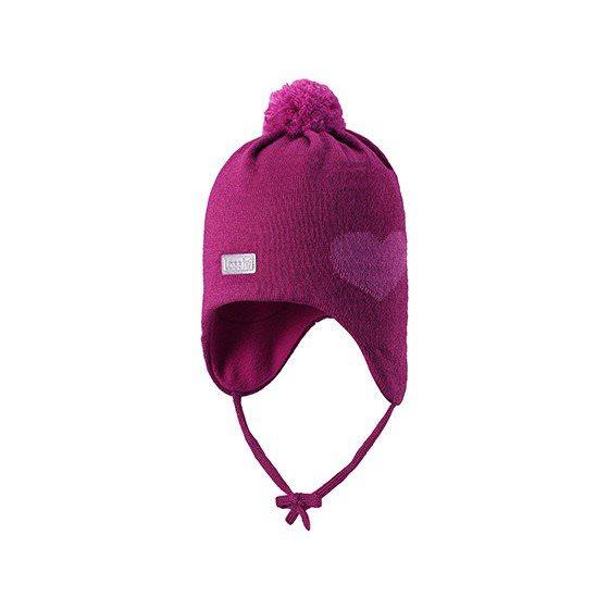 Зимняя шапка Lassie | Ласси by Reima Фуксия 718725/4800
