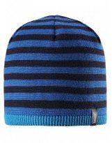 Теплая зимняя синяя шапка Lassie - Ласси by Reima