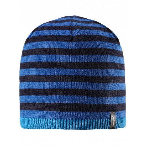 Теплая зимняя синяя шапка Lassie | Ласси by Reima Теплая зимняя синяя шапка Lassie | Ласси by Reima 728718/6961