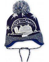 Зимняя шапка с завязками Lenne - Ленне GARUM 17375