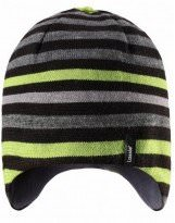 Зимняя полосатая шапка Lassie 728714 - Ласси by Reima