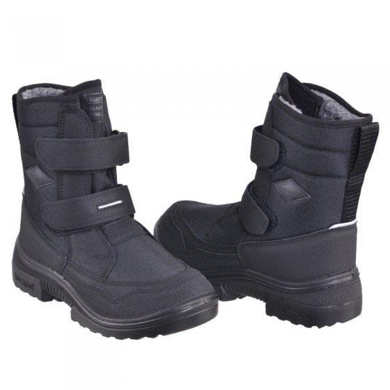 Ботинки зимние Kuoma Crosser Black | Куома кроссер черные