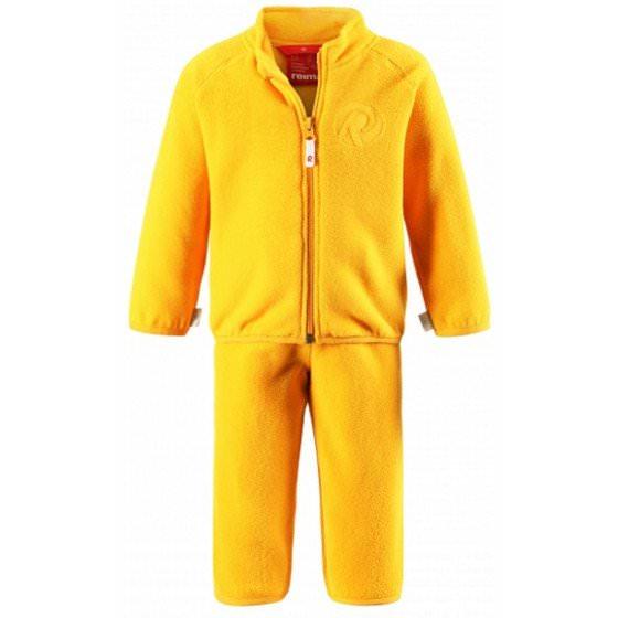 Флисовый желтый костюм Reima | Рейма ETAMIN 516268/2320