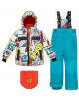 Лыжный зимний костюм Deux Par Deux - Де Пар До L814