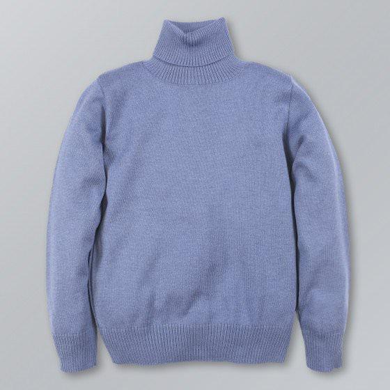 Хлопковый гольф цвета джинс Flash/Флеш