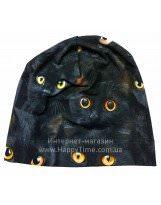 Демисезонная хлопковая шапка КІТ Lenne TAMMY 18677