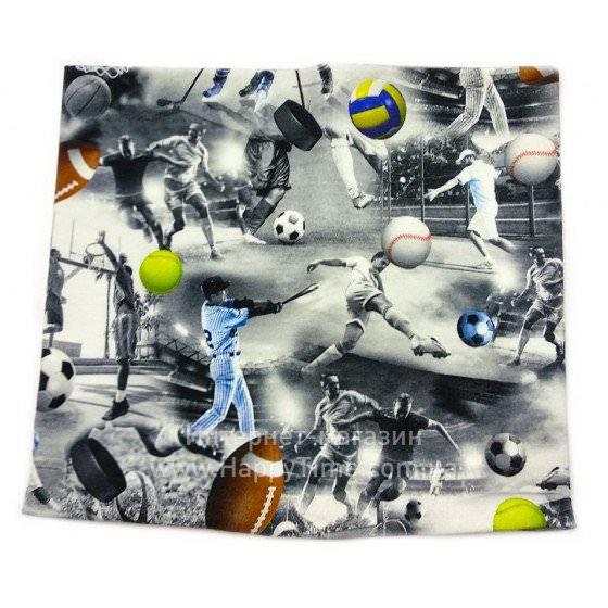 Хлопковый шарф-снуд Lenne POP 18699